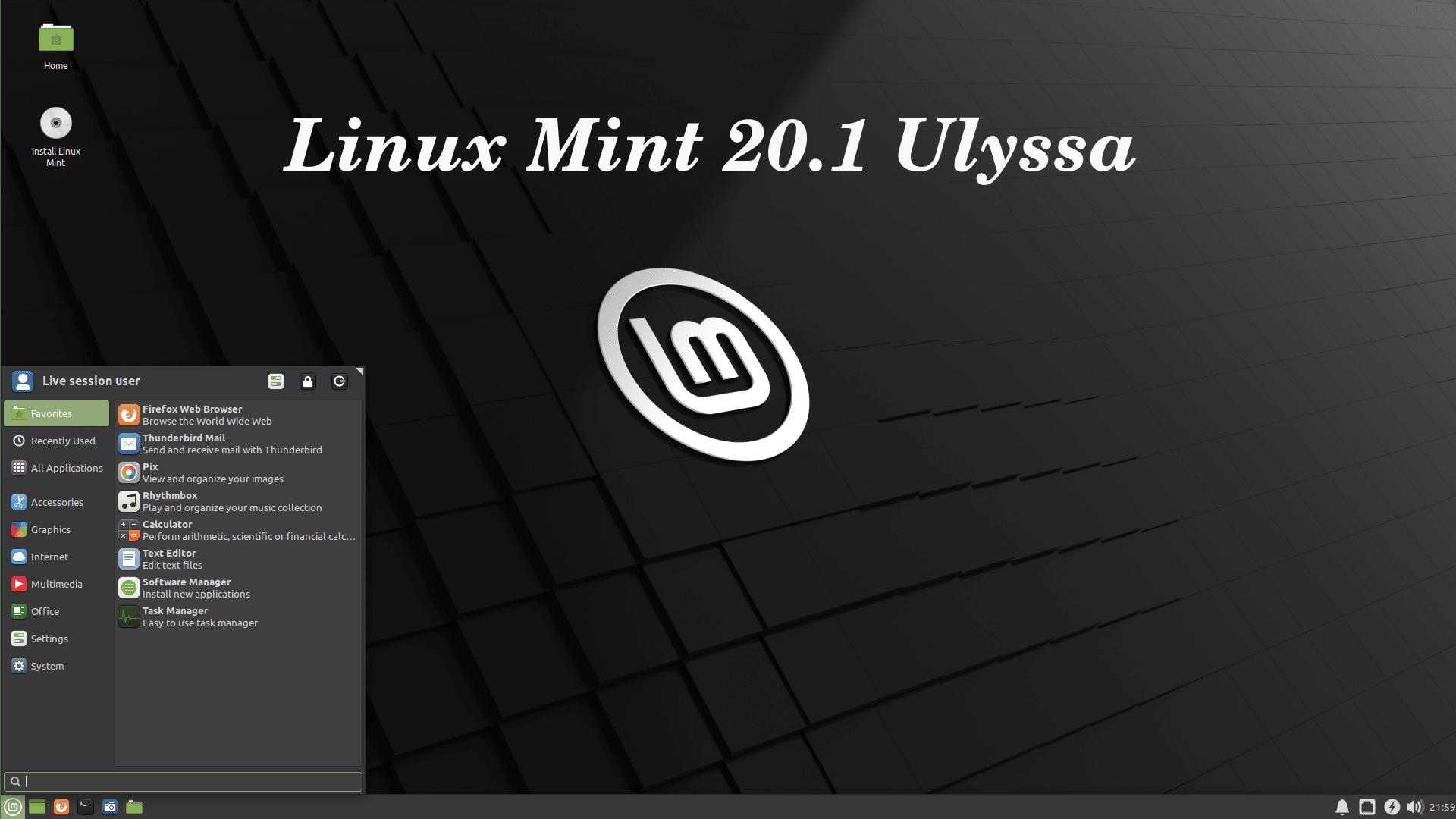 Linux Mint 20.1 «Ulyssa»