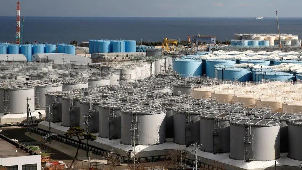 """Япония хочет сбросить воду из ядерной установки """"Фокусимы"""" без надлежащей фильтрации."""