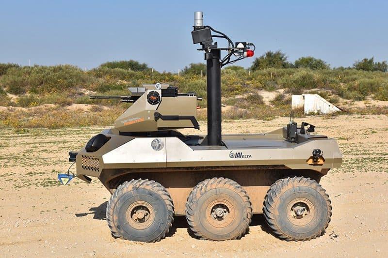 Роботы на поле боя