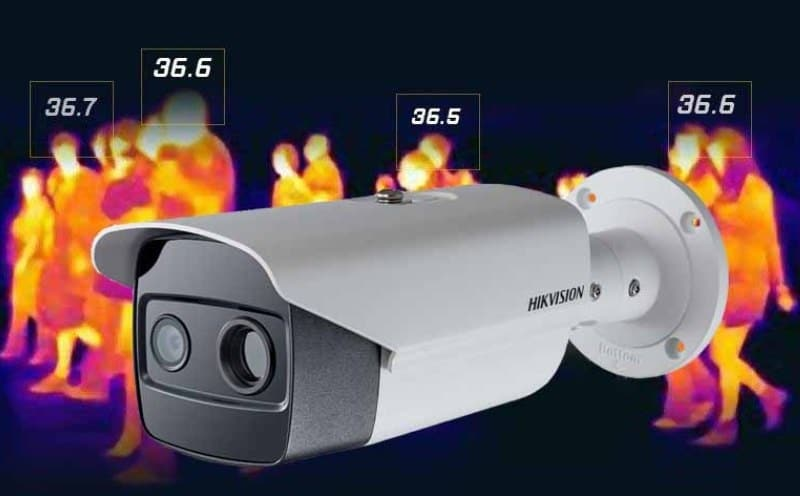 Спрос на камеры, фиксирующие температуру тела.