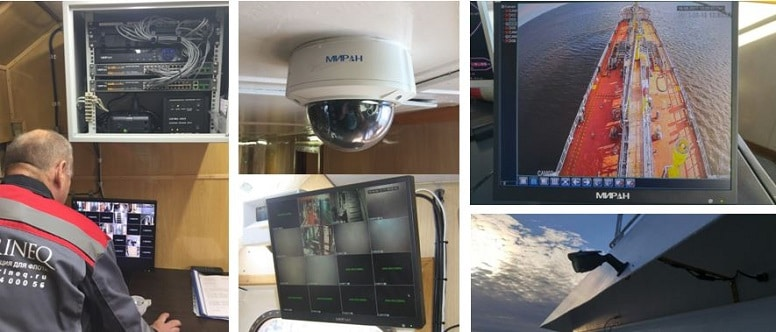 Комплексные системы видеонаблюдения на морском транспорте.
