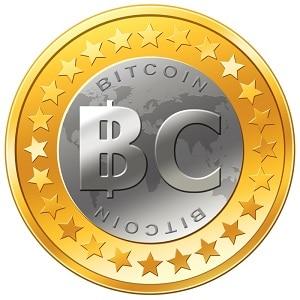 Первый логотип биткоина