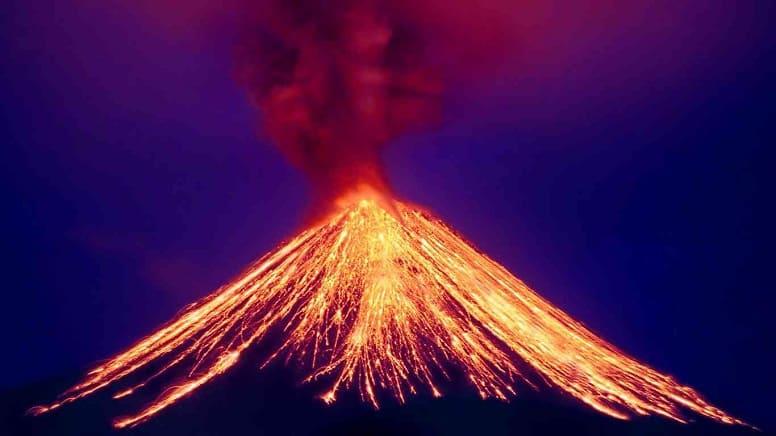 Самое страшное извержение вулкана