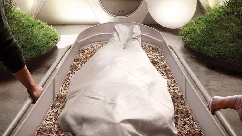 Новый американский закон разрешил компостировать тела умерших людей