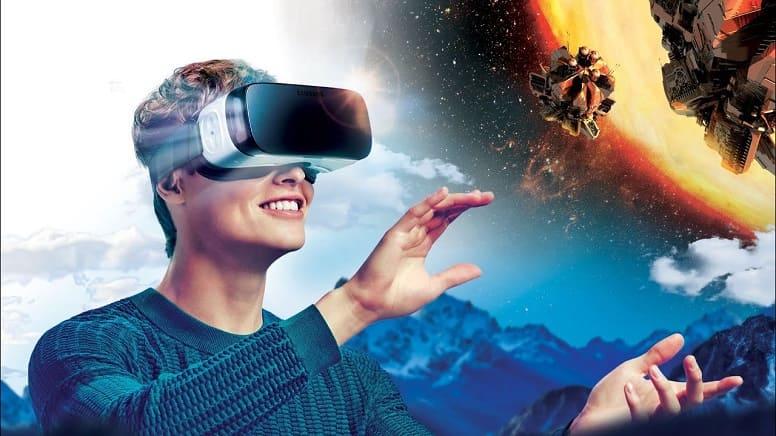 Космическая прогулка в виртуальной реальности
